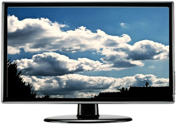 "new! low price 42"" LCD smart TV"