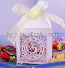 2014Teda Wedding Decoration & Gift Use wedding favor box