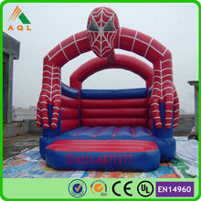 inflatable game spiderman inflatable bouncy castle for sale