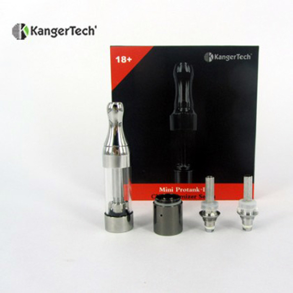 A hot e cigarette huge vapor cartomizers pyrex glass atomizer rebuildable bottom coil Mini Protank 2 ecigator ecig