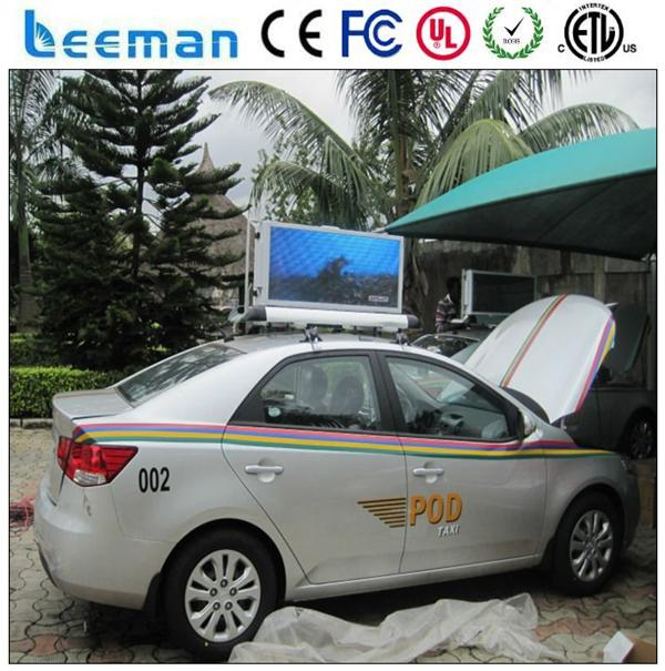 led taxi lamp mobile led billboard display led car lighting sign