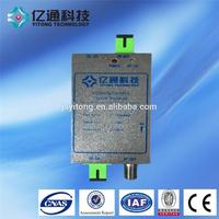 ONU FTTH agc Optical Receiver with WDM in telecommunication