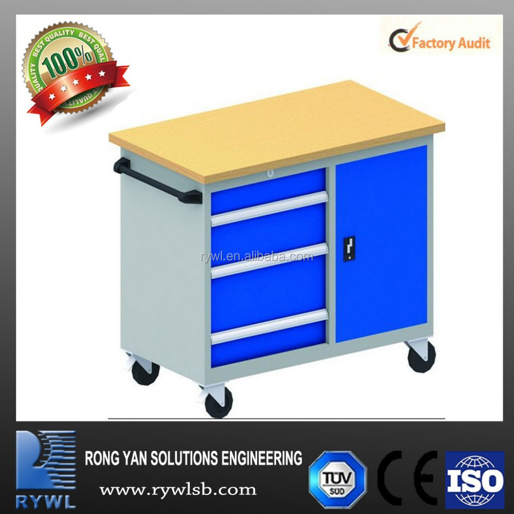 RWMK-1 industrial workbench with 3 drawers/ one shelf and locker