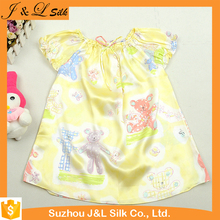 Wholesale High Brand Private Label Silk Children's Boutique Clothing