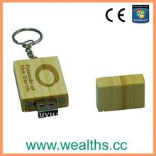 2015 Hotsale User-Friendly Wooden USB 2.0 with Free Logo
