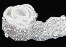 Latest Fashion Stunning Handcrafted Rhinestone Trim R2715F01