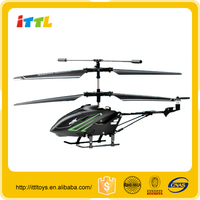 3.5 CH RC toy length 18.5cm alloy model helicopter,newest design remote control toy