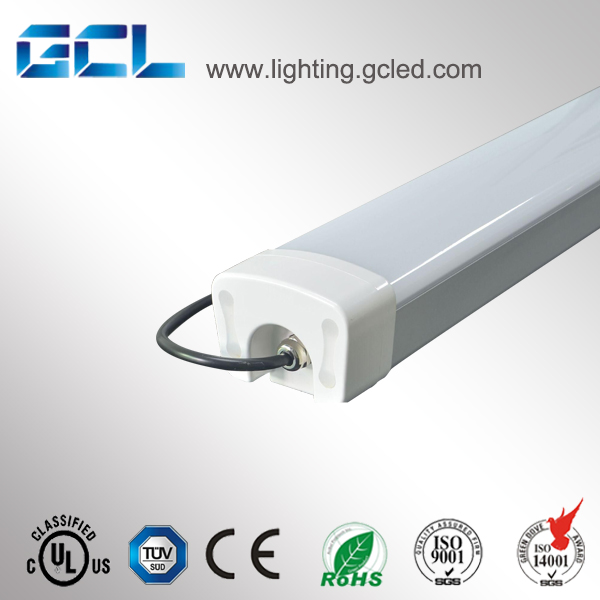 Hight power IP65 4ft 50w 2ft 30w tri-proof linear led batten light