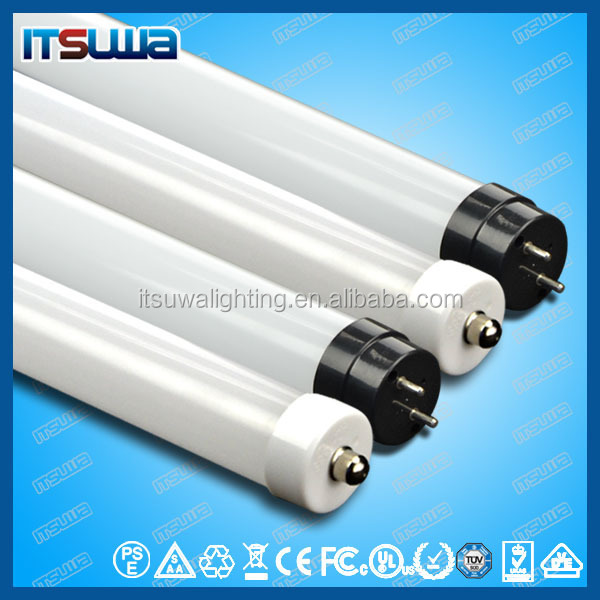 new tuk tuk t8 led glass tube 18w 1200mm with ce, rhos, ul ,tul