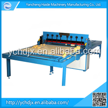 New design fashion low price fabric sample book/color card/glass cleaning cloth cutting machine