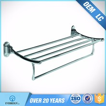 manufacturer china excellent quality hotel bathroom wall mounted heated towel rack