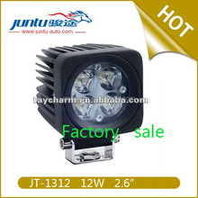 12w 840lm 0.9A@12V 0.4A@24V dc IP67 waterproof led worklight with 12w