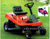 30 inch 12.5hp driving type lawn mower