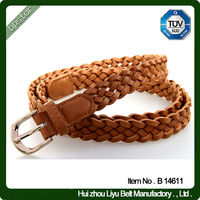 2014 new style braided belt high quality CE ROHS ISO certified