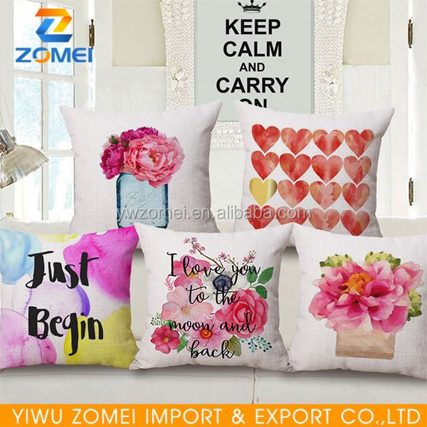 New coming OEM quality decorative pillows target with good offer