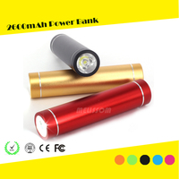Power bank for samsung phone travel charger USB power bank 2600mah