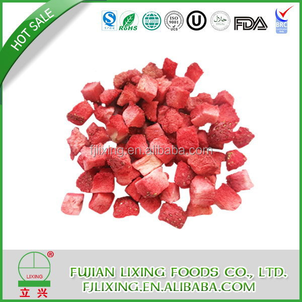 Natural Cheapest freeze dried strawberry 2015 crispy fruit chips