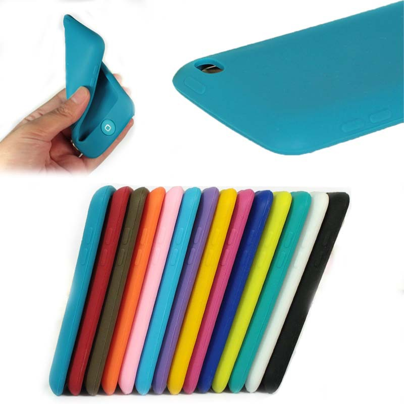 Ture color Soft case for ipod touch 4,for ipod touch 4 case