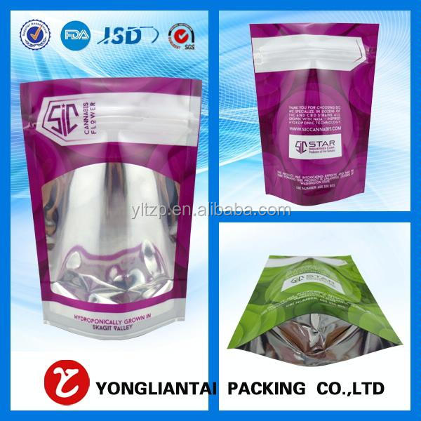China supplier doy packs/zip up bags/puch bags on sale