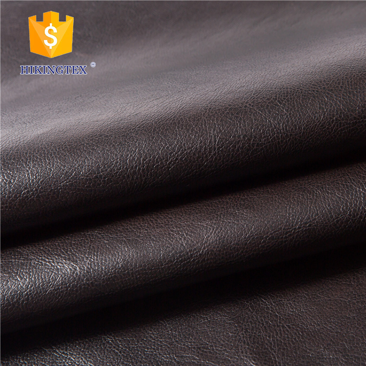 Composition Cotton and Poly bonded artificial leather for upholstery