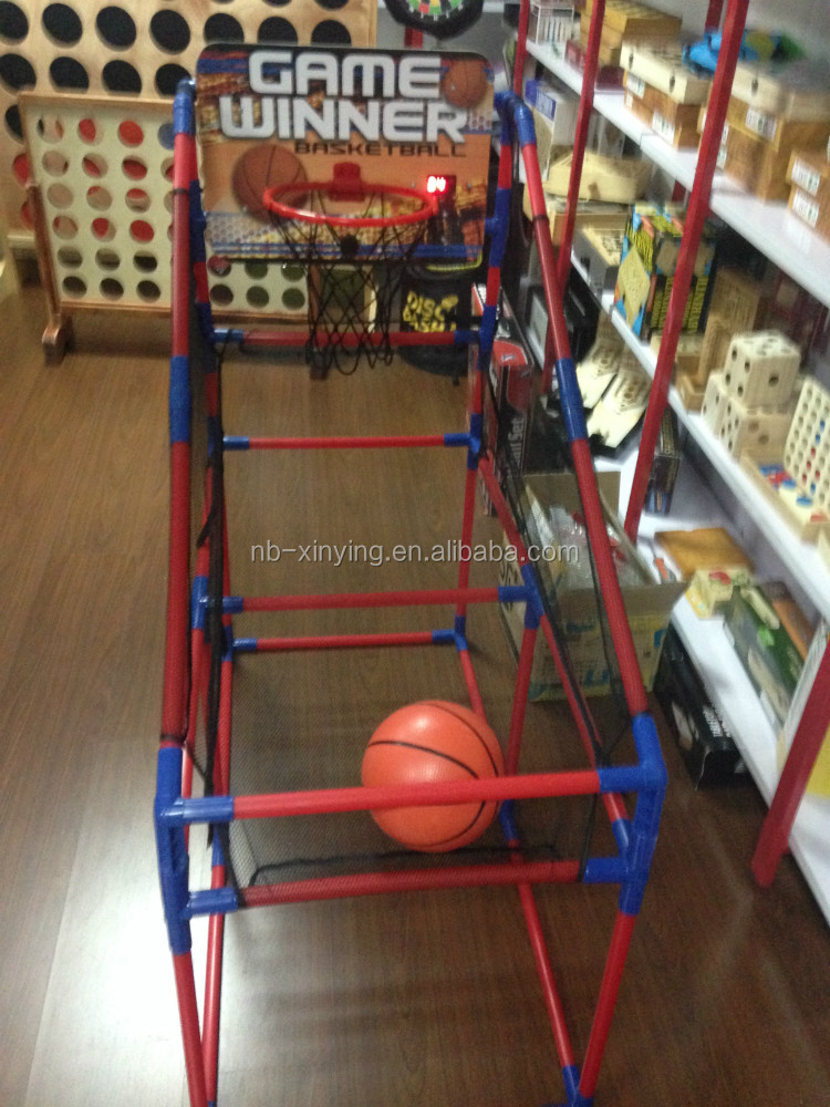 Hot sales desktop mini baby basketball game set
