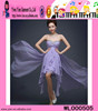 Hot Sale Purple Cocktail Dresses Chiffon Sweetheart Purple Cocktail Dresses