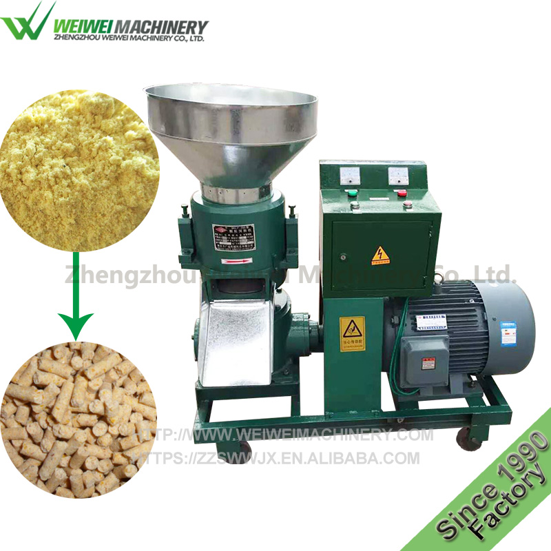 Weiwei cheap price poultry feed manufacturing pakistan pellet press