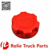 VOLVO F12 F16 truck body parts oem 1675839 20807510 auto truck spares parts red plastic Radiator Cap