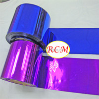 Fashionable And Hot Selling PVC Metallized Plastic Decorative Film