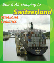 container to Basel / Chiasso of Switzerland from Jiangmen Guangzho
