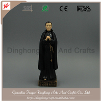 Resin Catholic Religious Items Archangel Statue 3D Religious Pictures