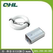 QHL Official Advanced High Lumen Output Low Frequency 200W ballast uv Magnetic Induction Lamp 90V-300V High Bay Factory Lighting