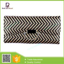 Wholesale Cheap special design genuine leather checkbook wallet cover