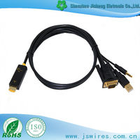 Factory Direct VGA to HDMI Cable with Audio/USB/Output