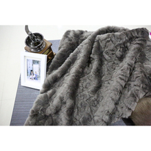 STABILE polyester head Shaggy Faux Fur Fabric with high quality
