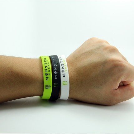 factory price customized design promotional gift Silicone Bracelet Wristband