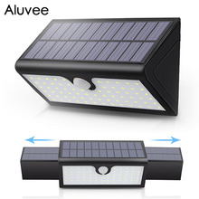 58 leds Waterproof Outdoor Solar Lamp Lights Upgraded Version Retractable Solar Folding Wall Light