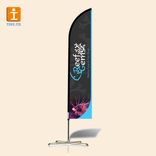 2018 Flying Banner/ Promotion Feather Flag/Teardrop Banner Flags with Fiberglass Pole