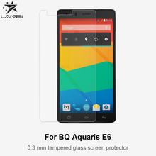 9H 2.5D 0.30mm Premium Tempered Glass Screen Protector Film For BQ Aquaris E6 Spanish Phone Film Protective