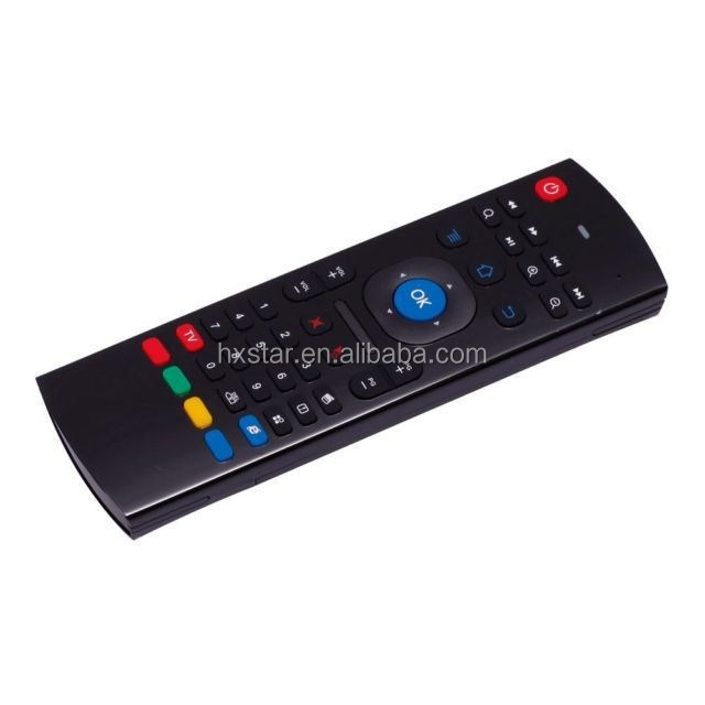 Dual Side mx3 Fly Air Mouse with IR Remote Controller, 2.4G 3d wireless Air Mouse for Android TV Box mx3
