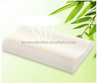 Memory foam contour pillow with holes