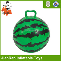 Gym toys Inflatable Hopper Jumping Ball for Kids with handle