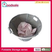 Multifunction waterproof portable foldable storage pocket laundry hamper with handle