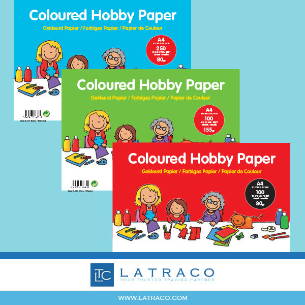 Latraco - Blancofun Colored Hobby Paper