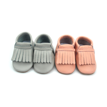 Wholeasale Genuine Leather Baby Moccasins Baby Fashion Shoes