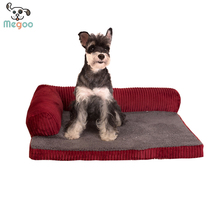 Foam Padded Medium Large Dog Cushion Washable Dog Sofa Pet Bed 105*90*20cm