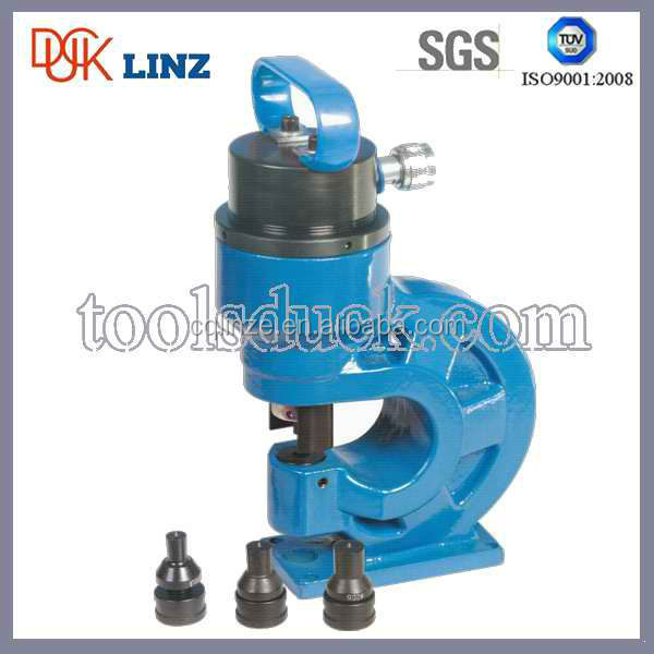hand operated manual hydraulic metal punching tools