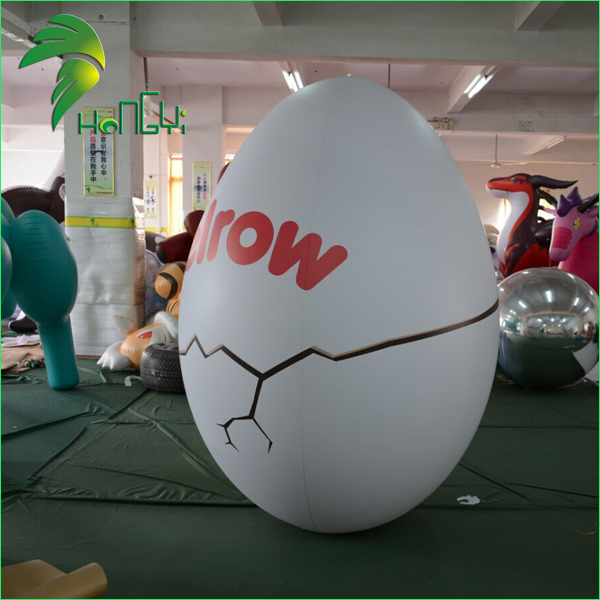 Hot Sale Custom Made White Inflatable Egg for Easter Day