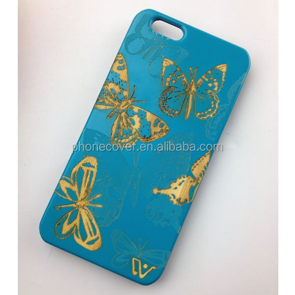 2016New Arrival Design Hard PC Bamboo Cell Phone Cases for iphone SE, for iphone 6