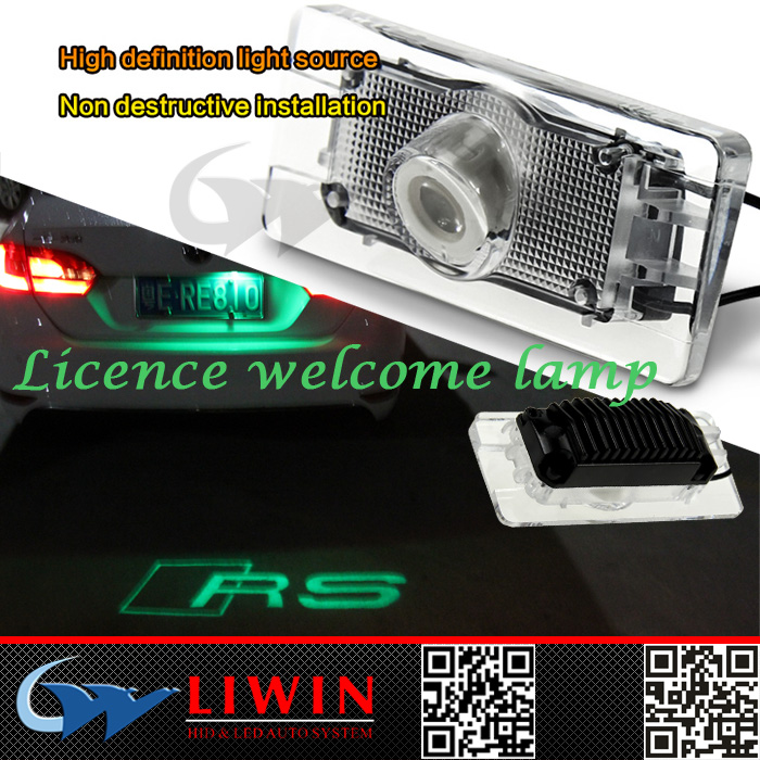 LW hot 5W car door welcome light led projection ghost shadow for audi car